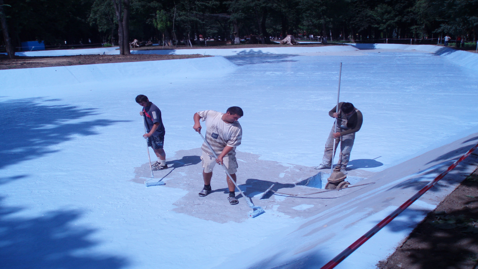 2. Hidroizolatie lac Roman