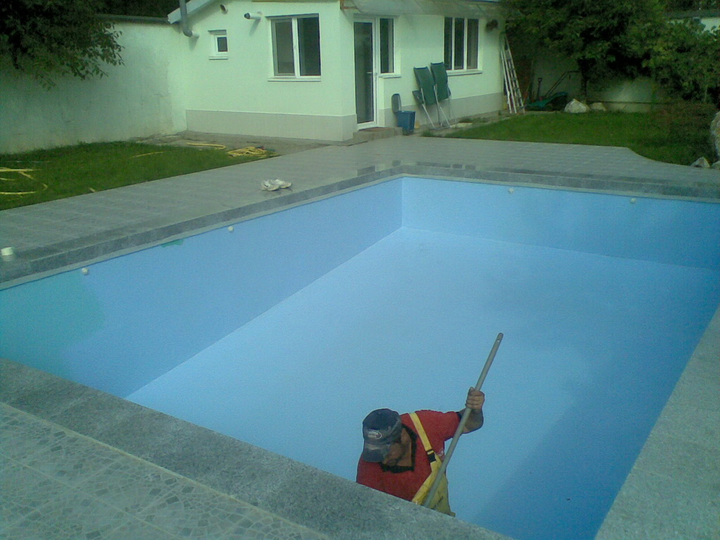 1. Hidroizolatie piscina