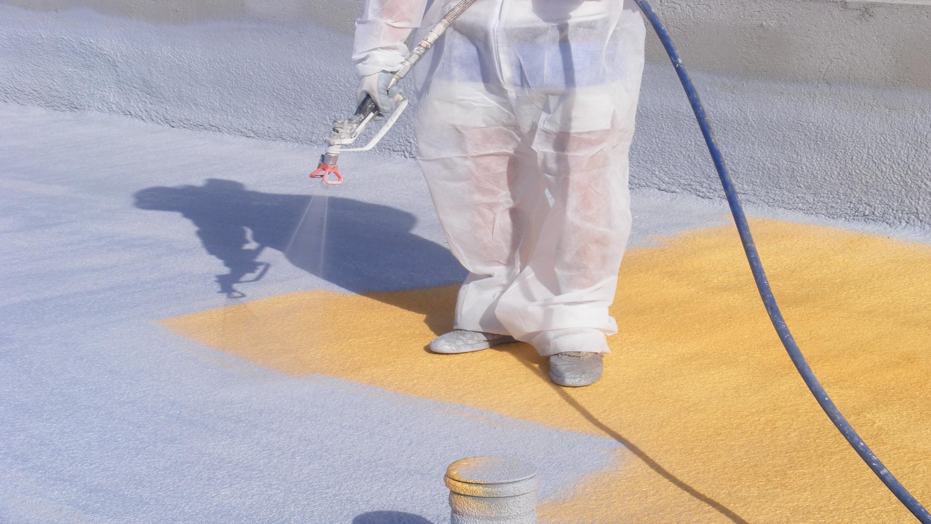 3. Hidroizolatie cu polyurea