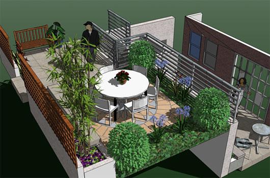 1. Hidroizolatie terasa verde