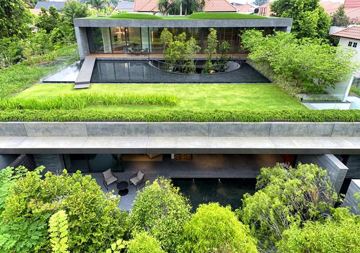 3. Hidroizolatie terasa verde